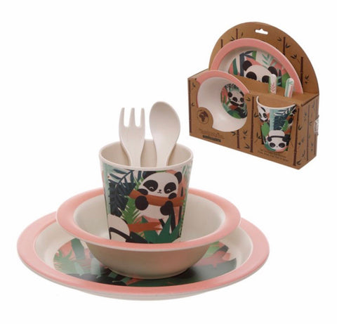 Pandarama Reusable Bamboo Composite Kids Set