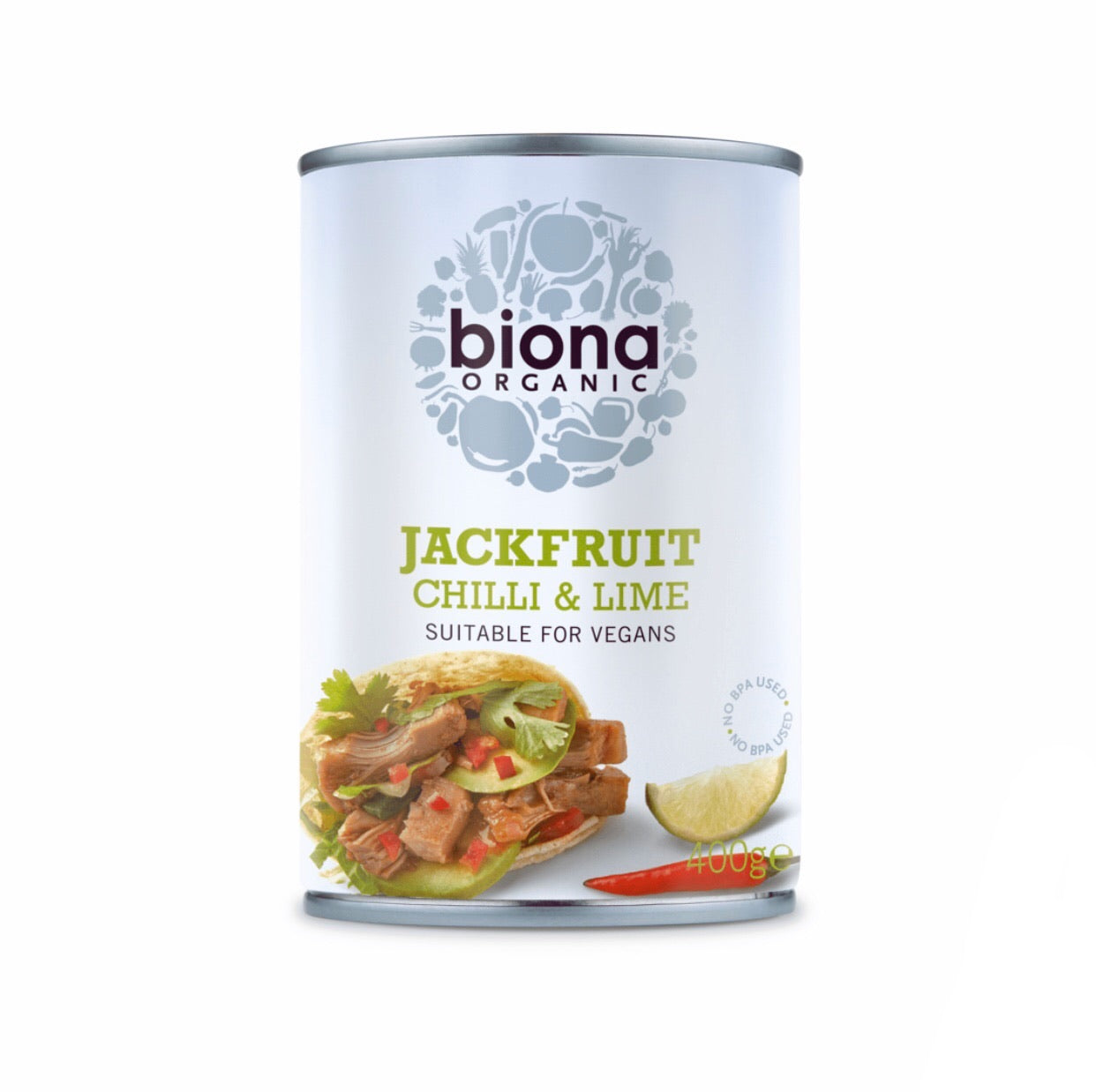 Organic Chilli & Lime Jackfruit • 400g