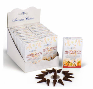 Stamford Incense Cones - Meditation
