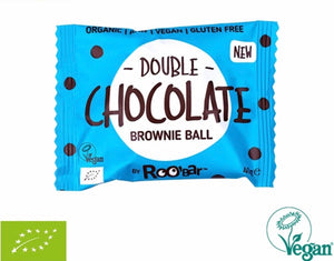 RooBar Brownie Ball • Double Chocolate 40g