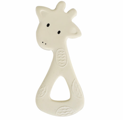 Natural Rubber Teether – Giraffe