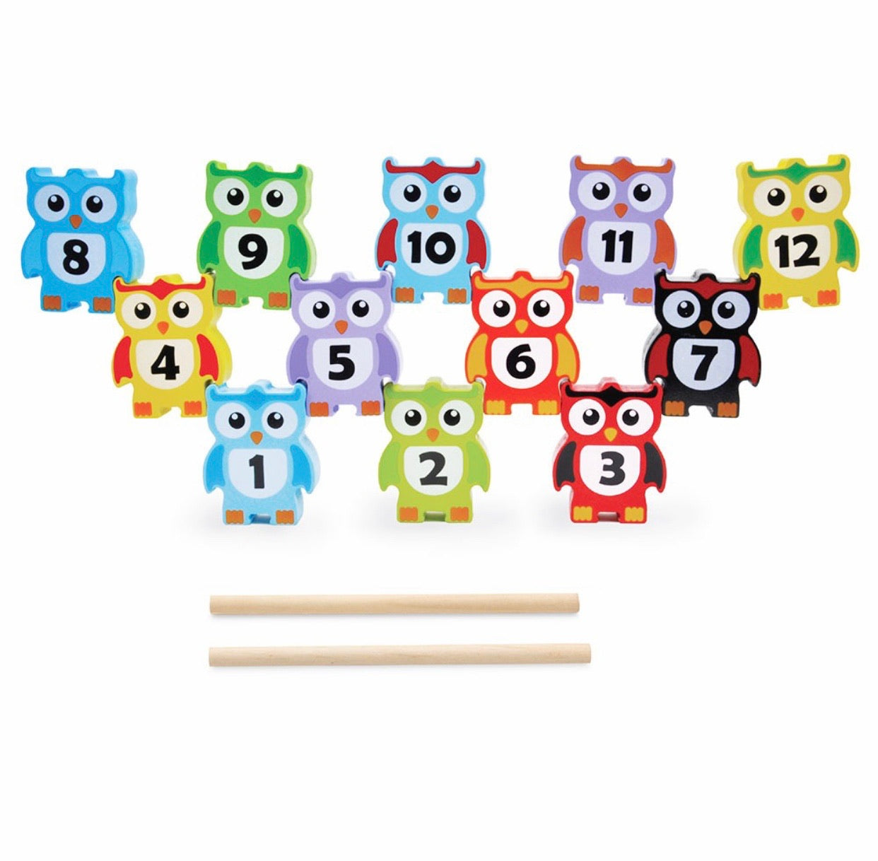 Stacking Owls – 12pcs