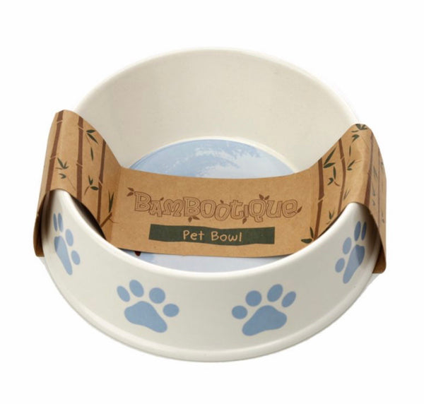 Bamboo Composite Catch Patch Dog Bowl