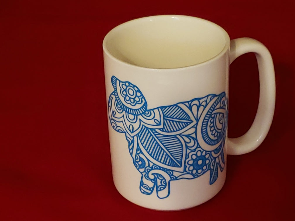 Zentangle Sheep Mug