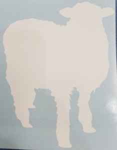 Lincoln Sheep Decal