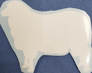 Merino Sheep Decal