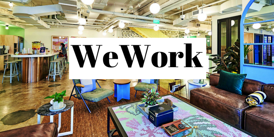 We are very excited and happy to partner with WeWork!