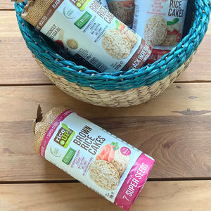 Brown Rice Cakes | 7 Super Seeds