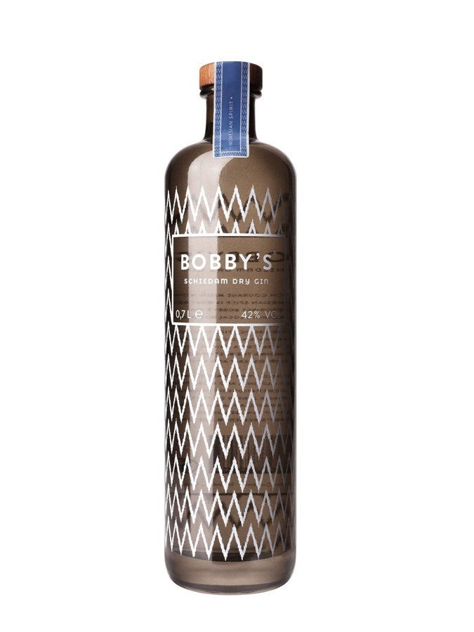 BOBBY'S Gin 42% Distilled Gin, Pays Bas, 70cl,