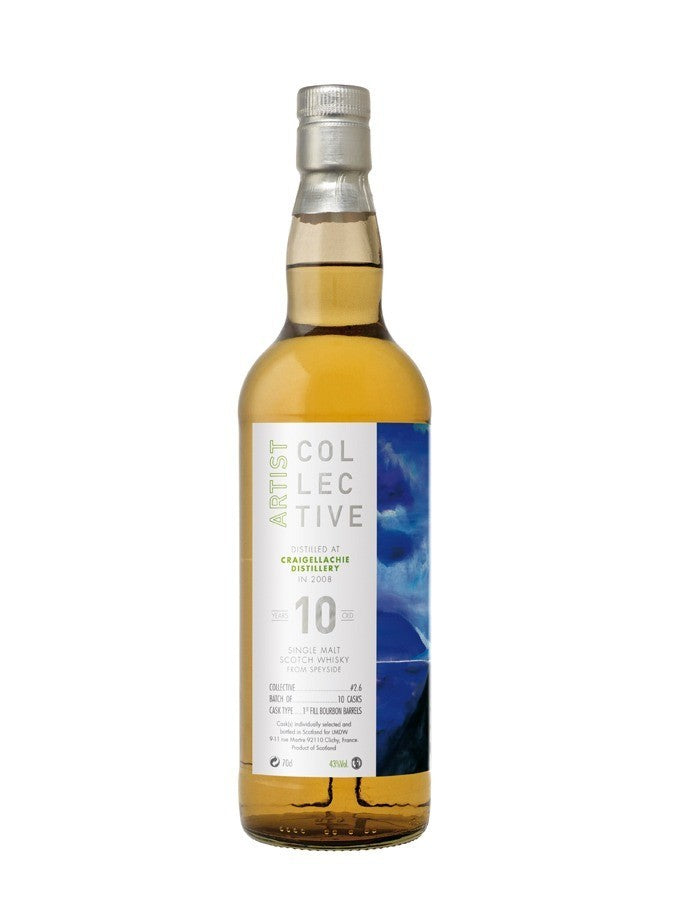 CRAIGELLACHIE 10 ans 2008 COLLECTIVE 2.0 43% Single Malt Whisky, Scotland / Speyside, 70cl