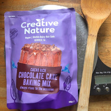 Load image into Gallery viewer, Cacao Rich Chocolate Cake | Creative Nature Baking Mixes