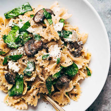 Load image into Gallery viewer, Date night mushroom pasta with goat cheese