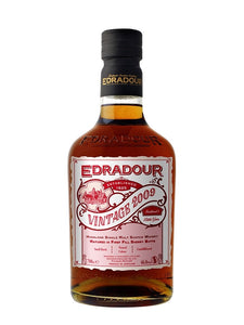 EDRADOUR 2009 Vintage Sherry - 46% - Single Malt Whisky