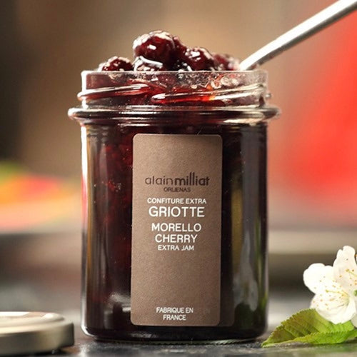 Shop Morello Cherry Jam Alain Milliat in Singapore - The New Grocer