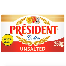 Load image into Gallery viewer, Butter unsalted | President | 250g