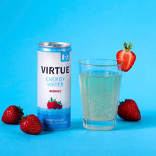 Load image into Gallery viewer, Natural Energy Sparkling Water Berries x4 | Virtue | 250ml