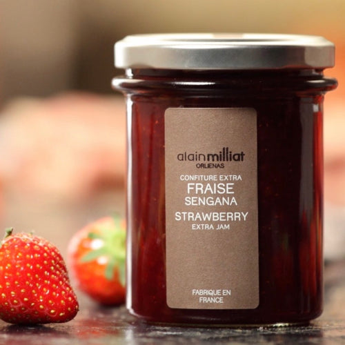 Shop Strawberry Jam Alain Milliat in Singapore - The New Grocer