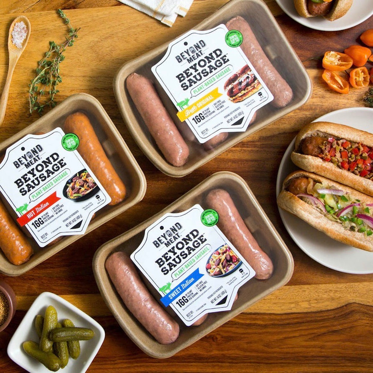Beyond Meat | Plant-based | Sausages | x4