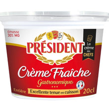 Load image into Gallery viewer, Creme Fraiche 30% | President | Singapore | The New Grocer