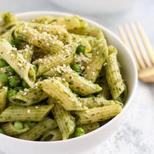 Load image into Gallery viewer, Whole Wheat Penne With Pesto & Spinach