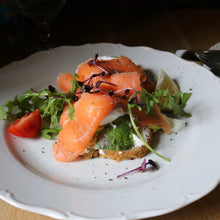 Load image into Gallery viewer, Avocado on toast with smoked salmon