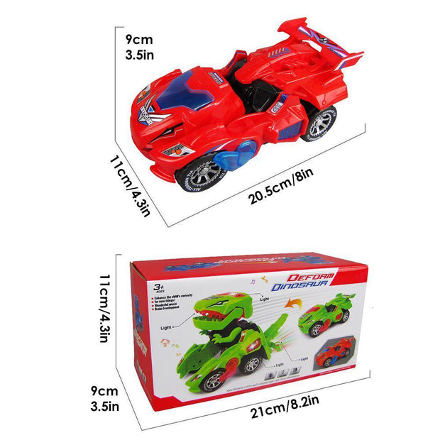 Halloween Hot Sale - DinoCar: Transforming Dinosaur LED Car - GadgetDrawer