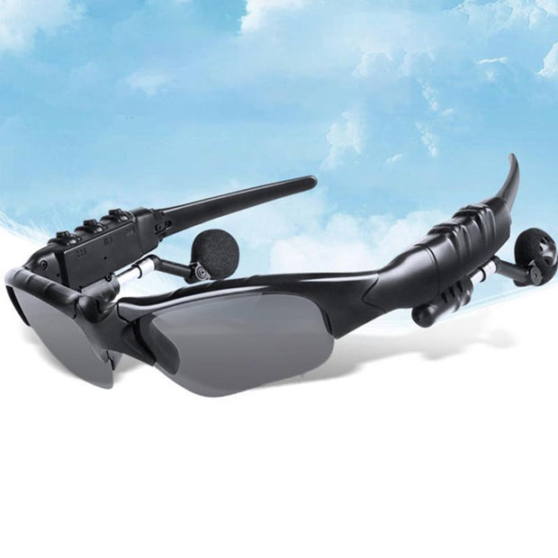 GDGlass™ Smart Bluetooth Sunglasses Stereo Handsfree Headset - GadgetDrawer