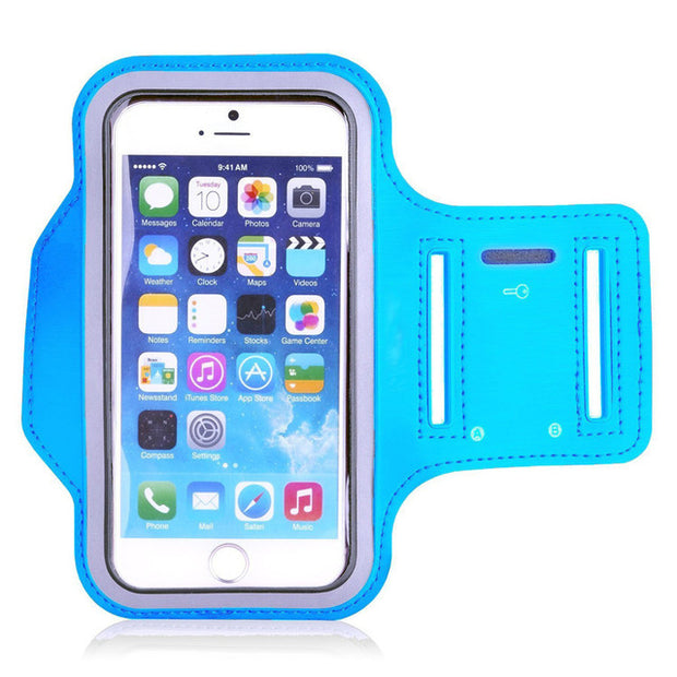 Universal Outdoor Sports Phone Holder Armband Case for Samsung Gym Running Phone Bag Arm Band Case for iPhone xs max for Samsung - GadgetDrawer