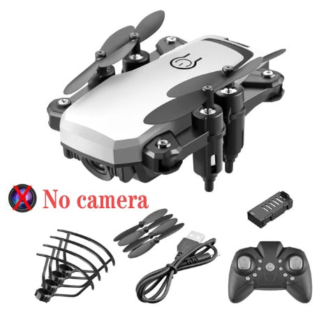 LF606 Mini RC Foldable drone With 4K HD Camera Wifi FPV Selfie Helicopter Altitude Hold Quadcopter Profesional Drones Kids Toys - GadgetDrawer