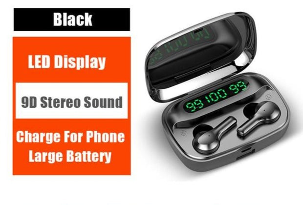Wireless Bluetooth Earbuds - GadgetDrawer