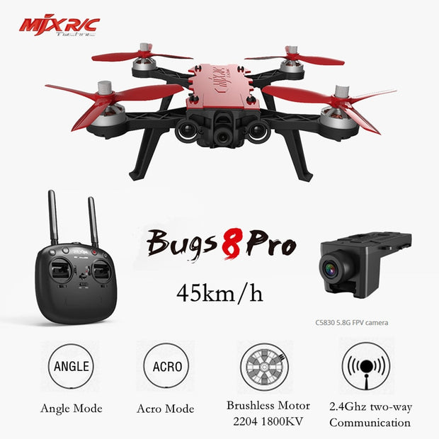 BUGS 8 PRO 3D Flips Remote Control Drone - GadgetDrawer