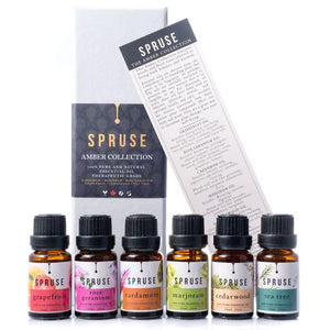 Spruse Essential Oils Amber Collection Set