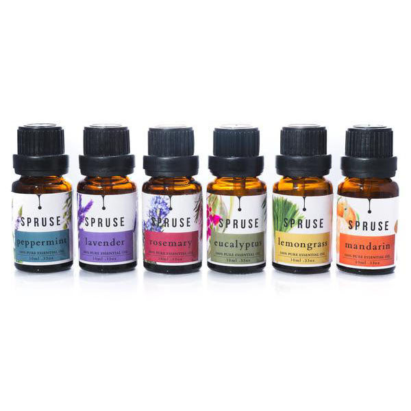 Spruse Essential Oils Basic Collection Set