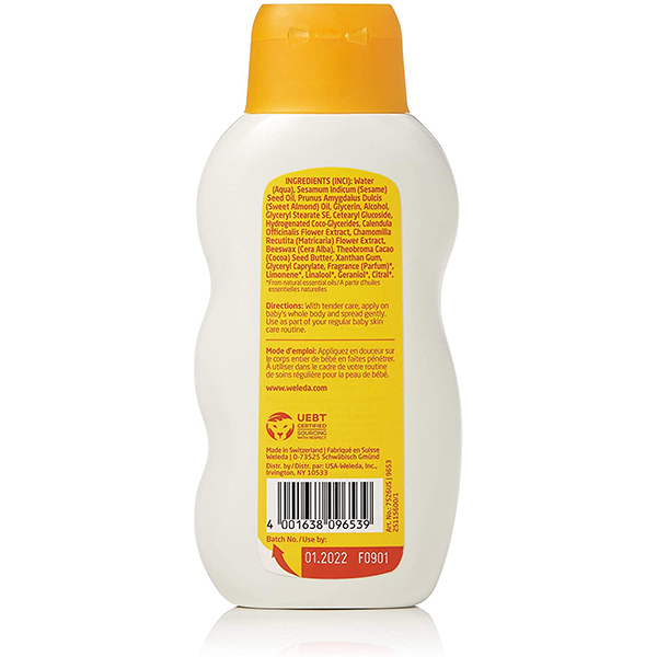 Weleda Baby Comforting Body Lotion (200ml/6.8fl. oz)