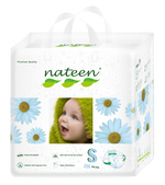 Nateen Premium Diapers Small (3 - 6 kg | 7 - 13 lbs)