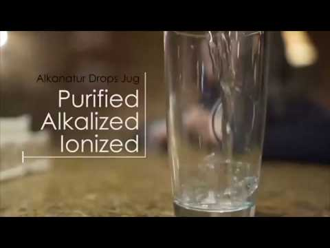 Load and play video in Gallery viewer, Alkanatur Alkaline Antioxidant Ionized Water Pitcher