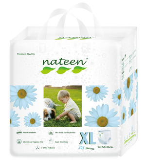 Nateen Premium Pull Up Diapers XL (12 - 25 kg | 26 - 38 lbs)