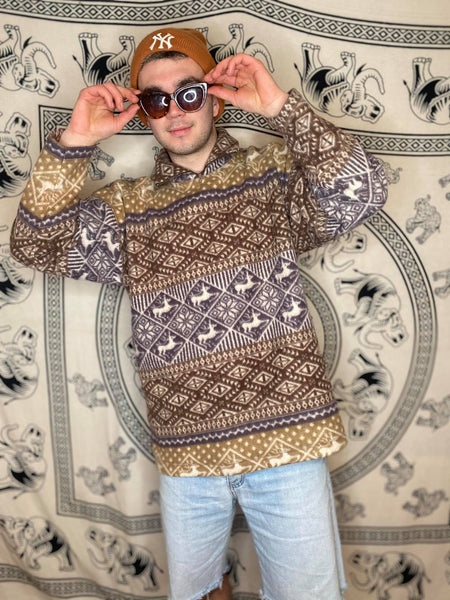 Patterned Fleece L