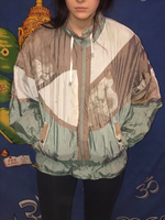 Rare Patterned Shell Jacket M/L