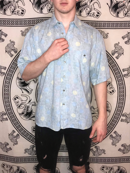 Barrows Patterned Shirt (L)