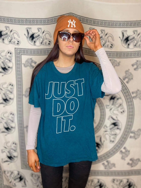 Retro Nike Just Do It Tee M/L