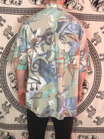 SeidenSticker Patterned Shirt (XL)