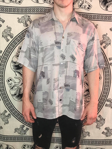 Studio Leonardo Patterned Shirt (L)