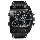 Oulm 9315 Multi-function 3 Movt Quartz Men Watch