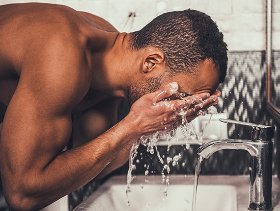 You're probably washing your face too much