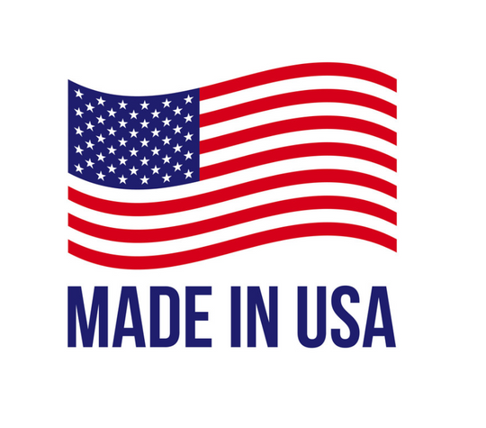 PROUDLY HANDMADE IN THE USA