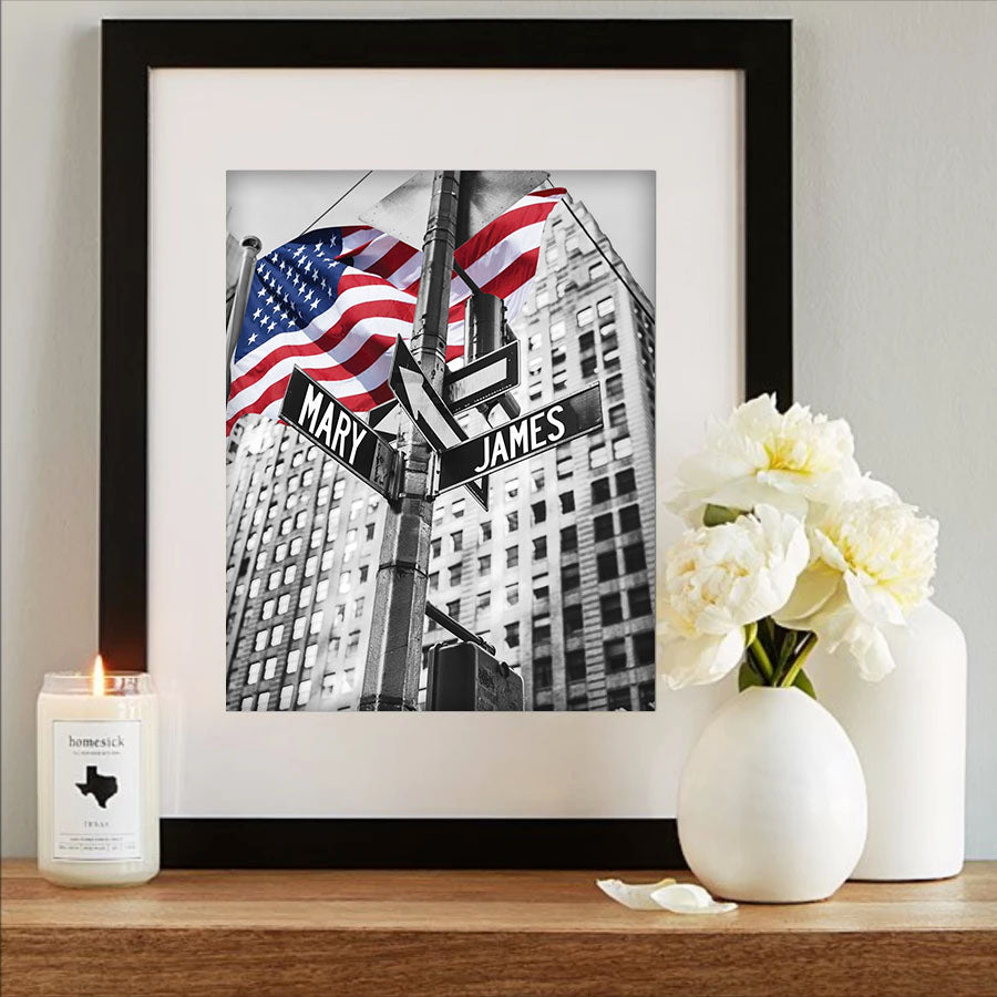 Street Sign of Love® USA Premium Artwork Limited Edition