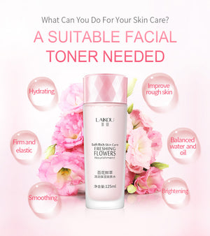 Fresh Flowers Moisturizing Face Toner