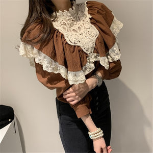 Autumn Retro Blouse