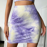 Tie-Dye Two Piece Cami and Skirt Set